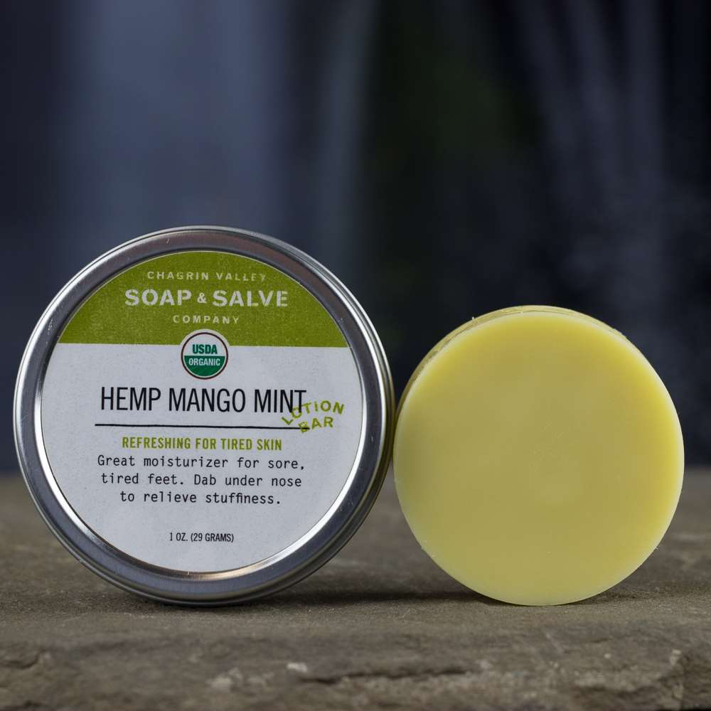 Natural Organic Mango Butter Lotion Bar