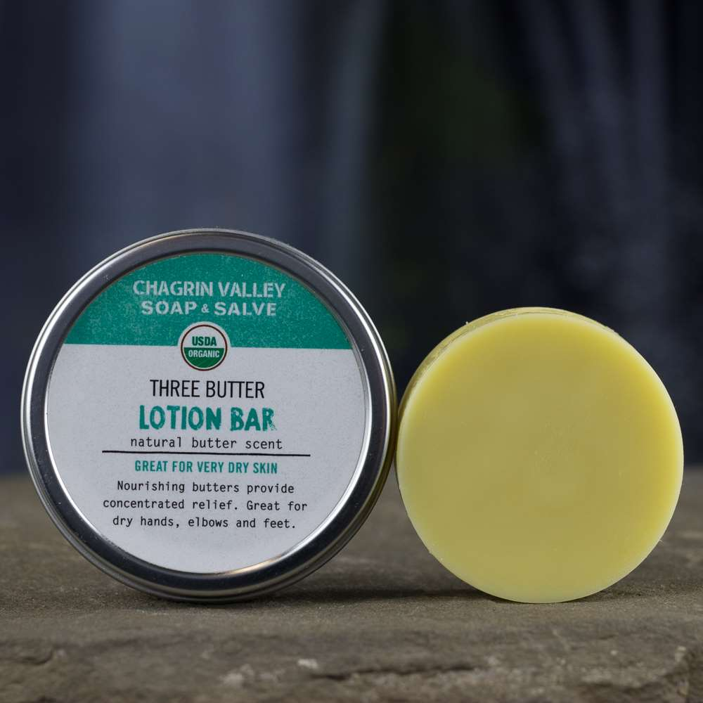Natural Organic Cocoa Butter Lotion Bar
