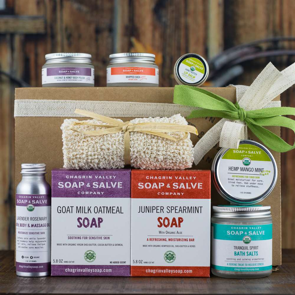 Natural Organic Skin Care Gift Sampler