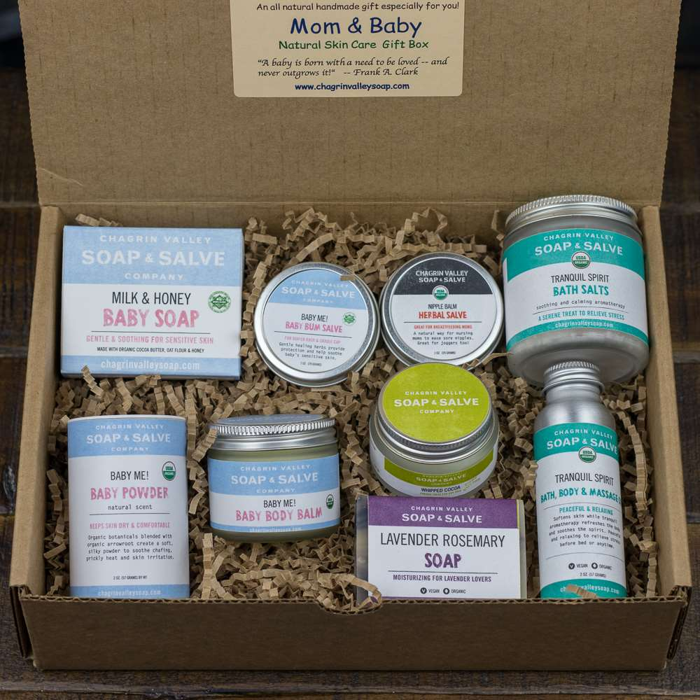 Natural Organic Skin Care for New Mom and Baby