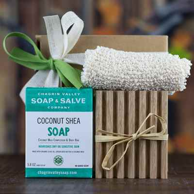 Gift: Soap-Soap Deck-Washcloth