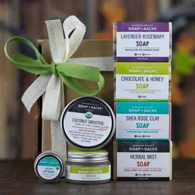 Gift: Natural Skin Care Sampler A