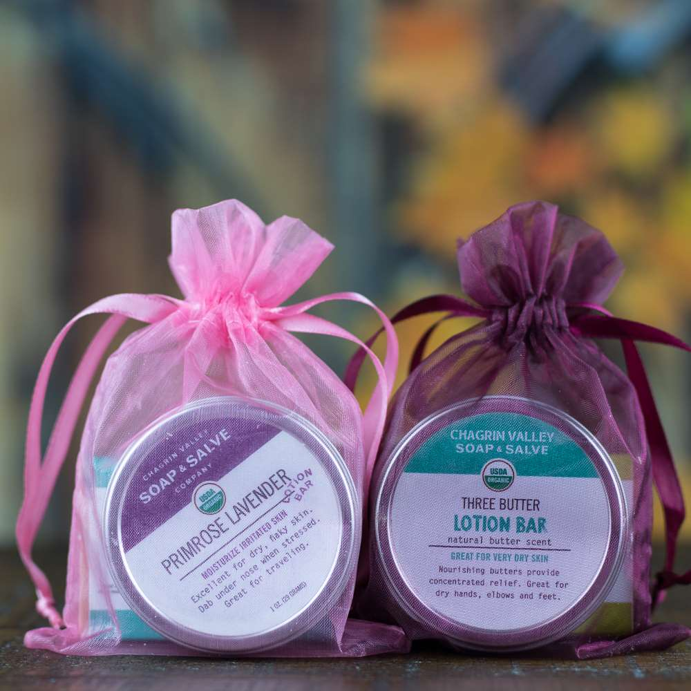 Natural Organic Skin Care Sampler Gift