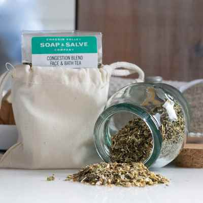 Bath & Facial Tea: Congestion Relief Blend