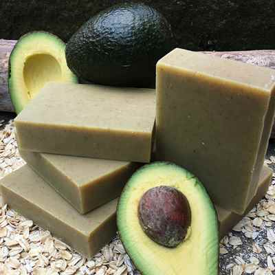 Soap: Avocado Oatmeal