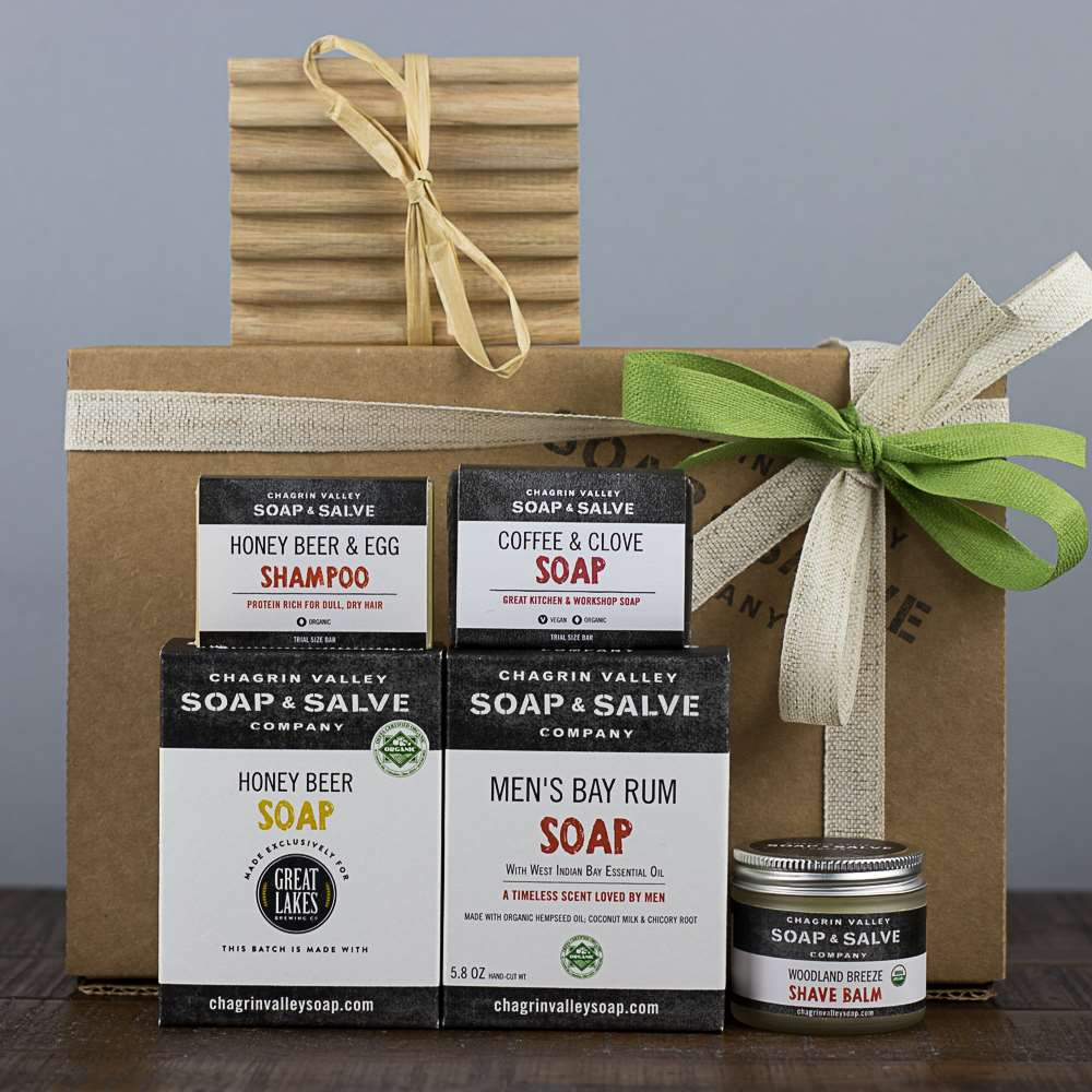 Men's Natural Skin Care Gift
