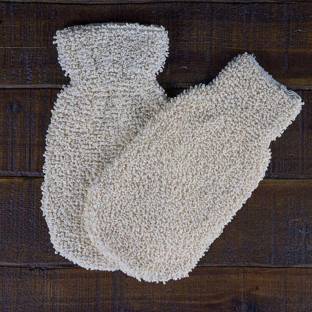 Natural Ramie Soap Mitt