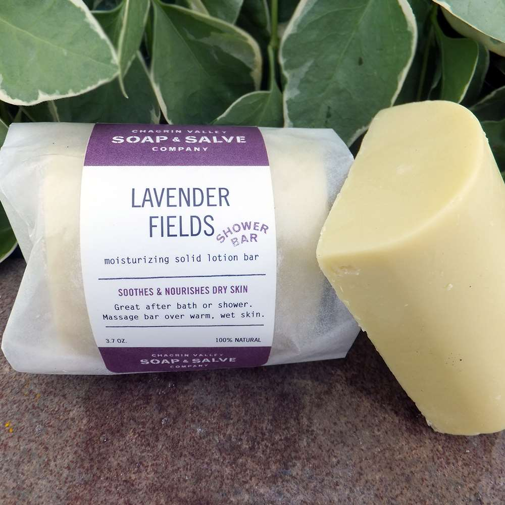 Organic Shower Butter Lavender Chagrin Valley Soap