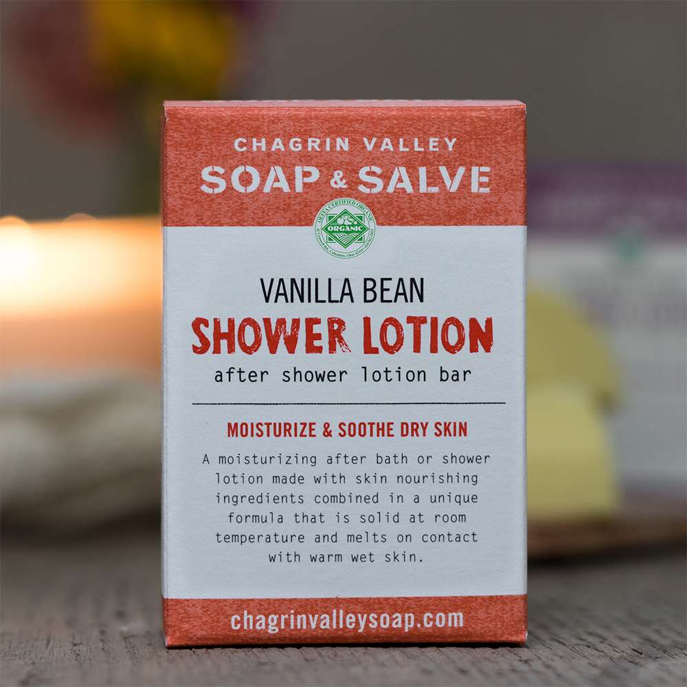 Vanilla Bean Shower Lotion Bar
