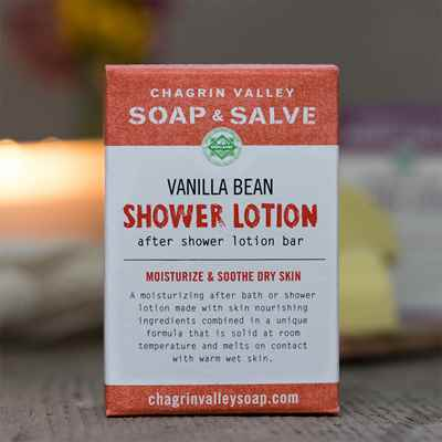 Shower Butter Bar: Vanilla Bean