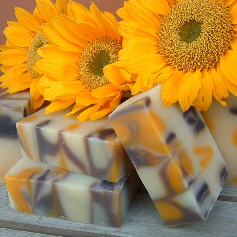 The Shelf Life, Color & Scent of an All Natural Soap