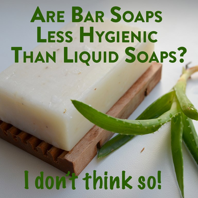 Are Bar Soaps Hygienic?