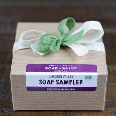 Gift: Natural Soap Sampler Small Box