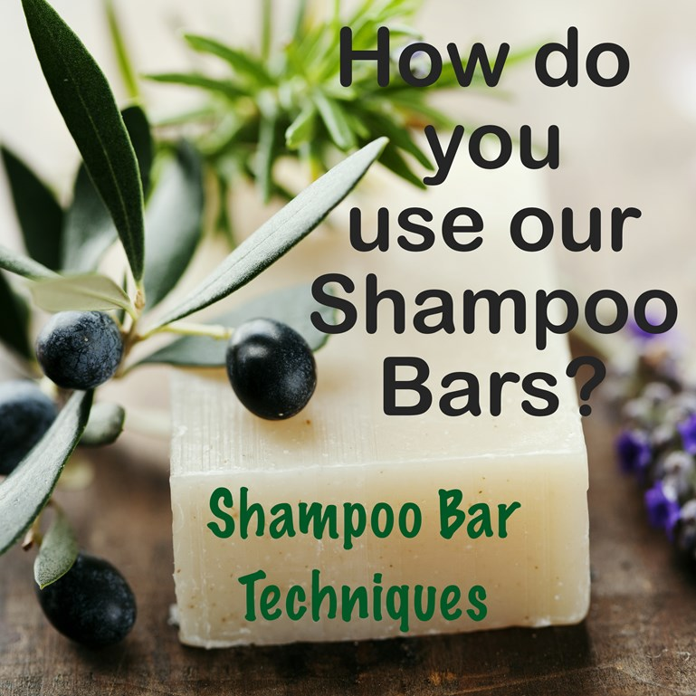 Share Your Shampoo Bar Technique