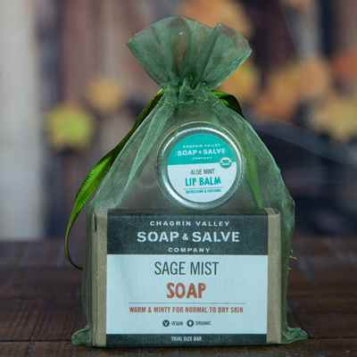 Gift: Soap with Lip Balm