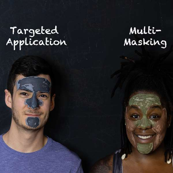 Multi-Masking and Targeted Application For Combination Facial Skin