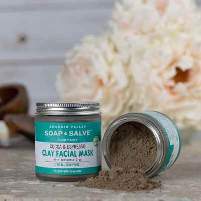 Clay Face Mask: Cocoa & Espresso