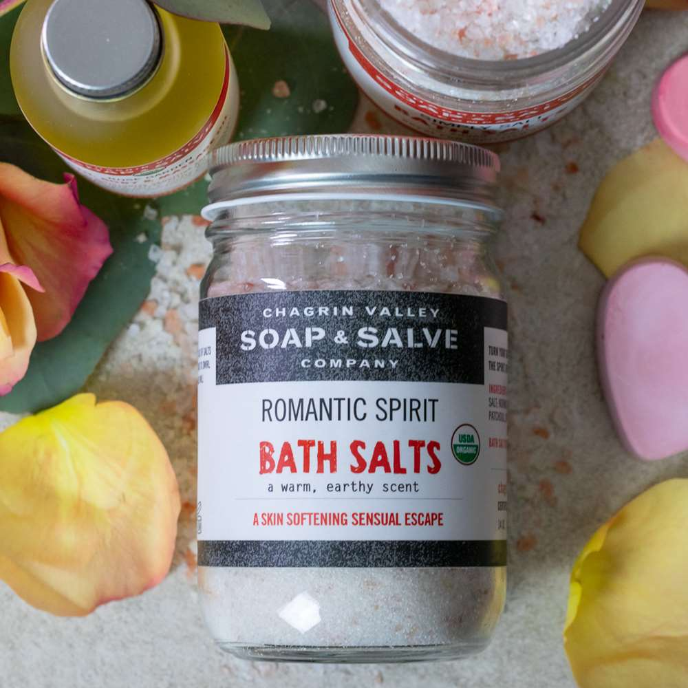 Organic Romantic Spirit Bath Salt
