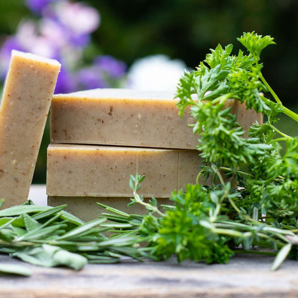 Natural Organic Scarborough Fair Herbal Soap