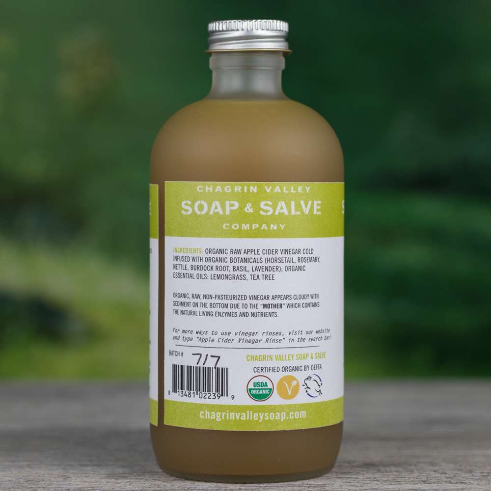 Natural Organic Tea Tree Apple Cider Vinegar Hair Rinse