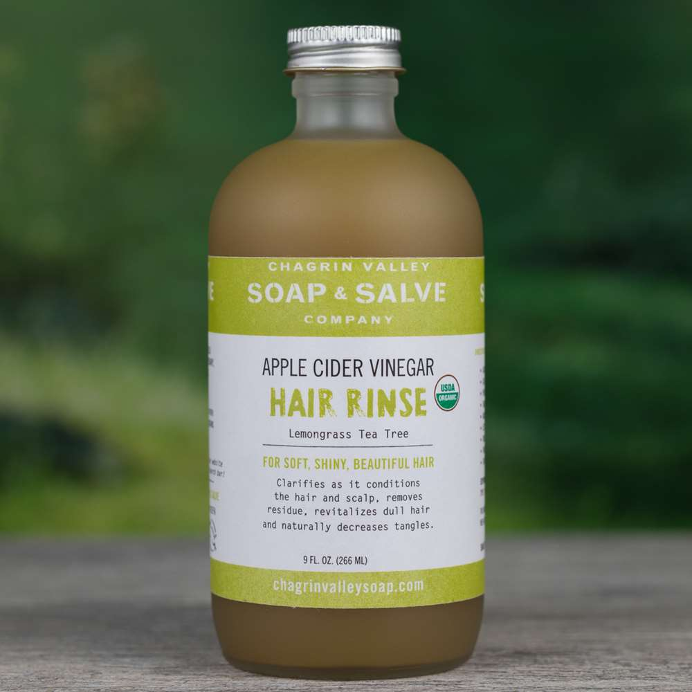 Natural Organic Apple Cider Vinegar Tea Tree Hair Rinse