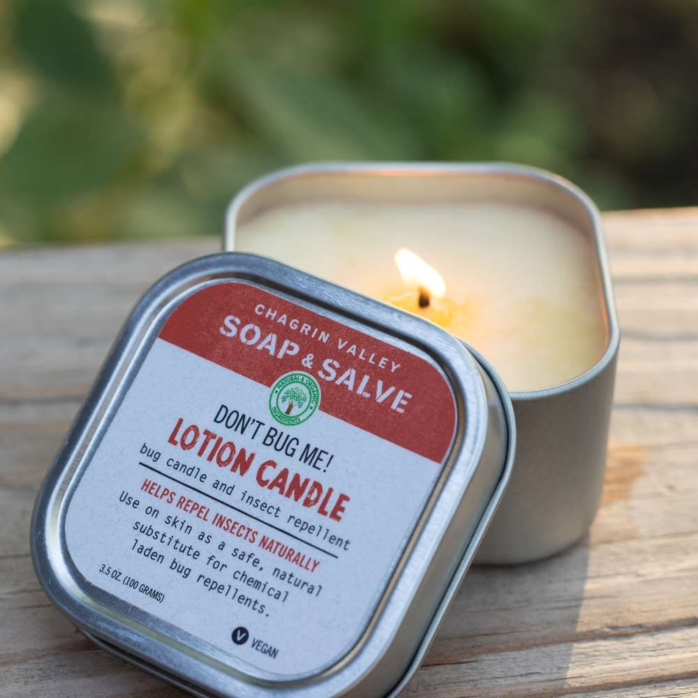 Natural Bug Repellent Lotion Candle