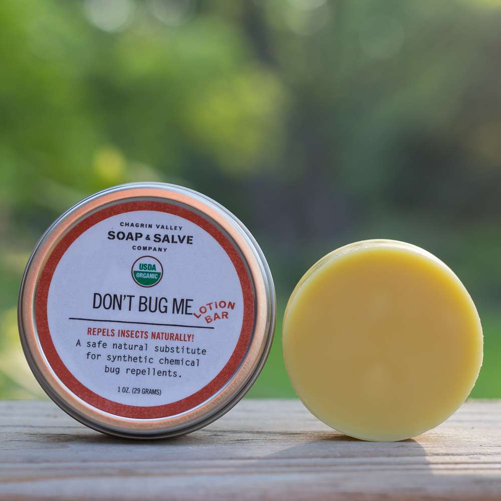 Natural Organic Insect Repellent Lotion Bar