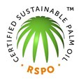 RSPO Certified Sustainable Logo