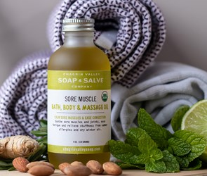 Natural Organic Bath and Body Oil