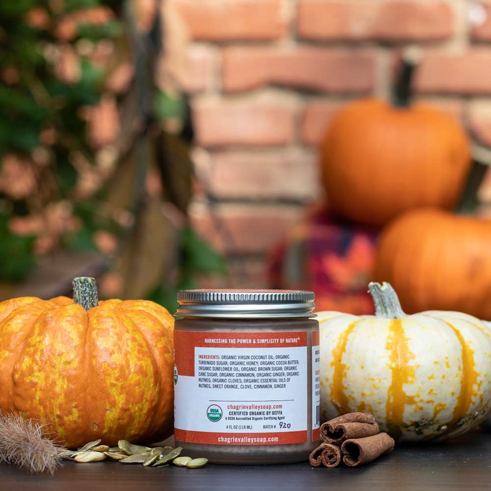 Pumpkin Pie Spice Exfoliating Sugar Scrub