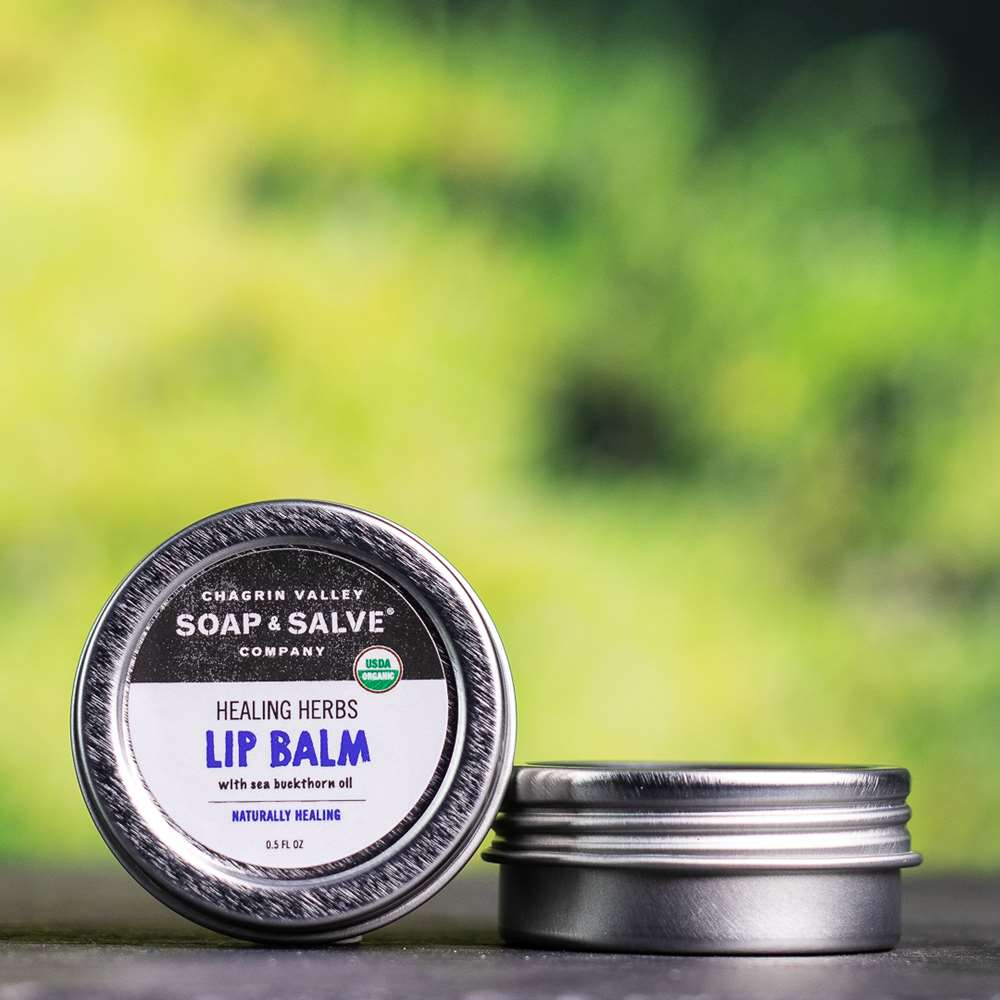 Natural Organic Sea Buckthorn Healing Lip Butter Balm
