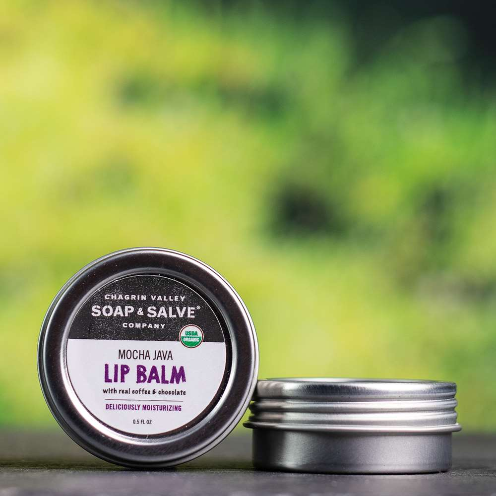 Natural Organic Coffee Chocolate Lip Butter Balm