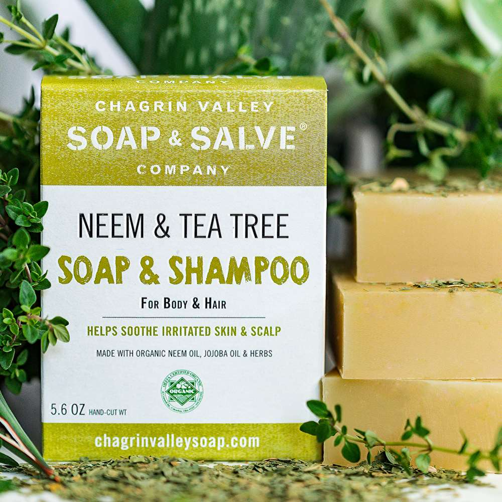 Neem Tea Tree Natural Soap and Shampoo