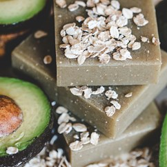 Organic Avocado Oatmeal Natural Soap