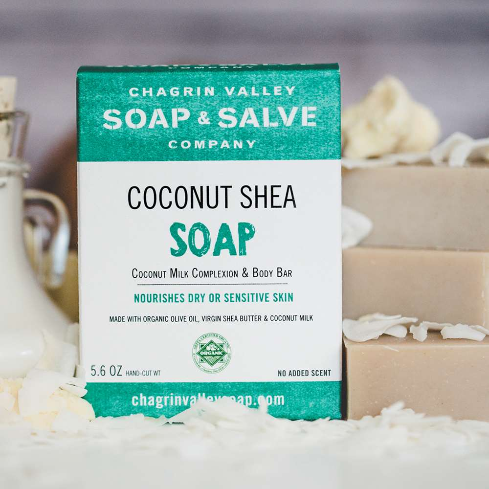 Natural Coconut Milk Virgin Shea Butter Soap