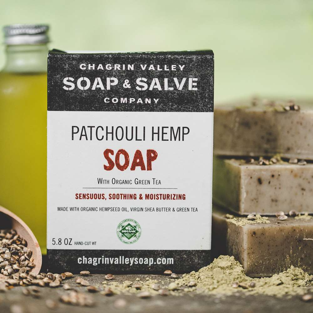 Patchouli Hempseed Oil Natural Soap