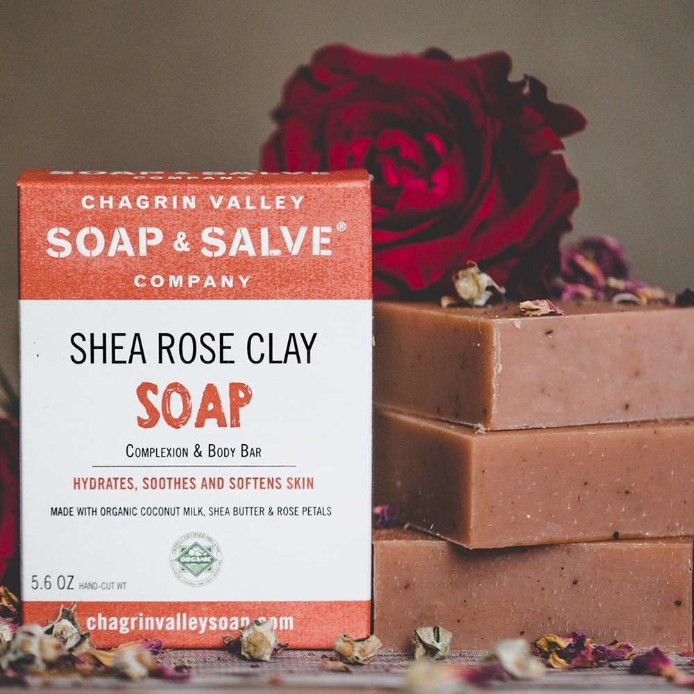 Shea Butter and Clay Natural Complexion Soap
